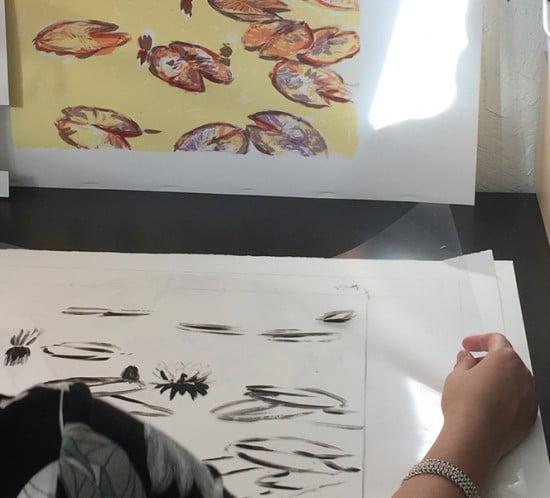 Johanna Lumme grafiikkavedokset